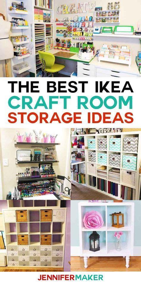 ikea craft room storage shelves ideas ikea