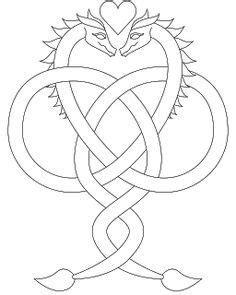 Dragon Love design (UTH5704) from UrbanThreads.com