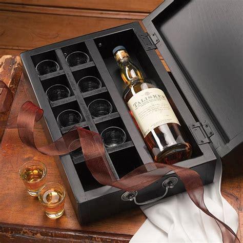 personalized toasting box shot glass set wood boxes
