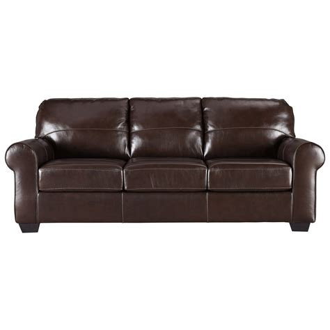 ashley loveseat sleeper sofa signature design by ashley canterelli leather match queen