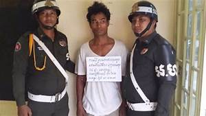 A Cambodian man arrested after rapping a young boy ...