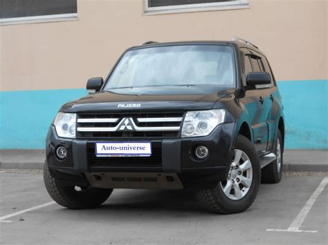 Mitsubishi 2010 Models by 2010 Mitsubishi Pajero Iv Pictures Information And