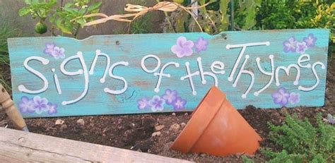 Diy Garden Signs And Garden Sign Sayings