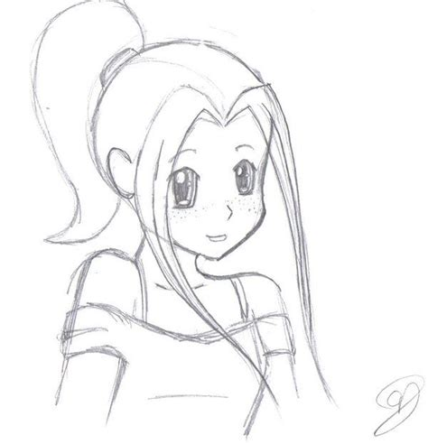 cute anime girls drawing drawings art gallery