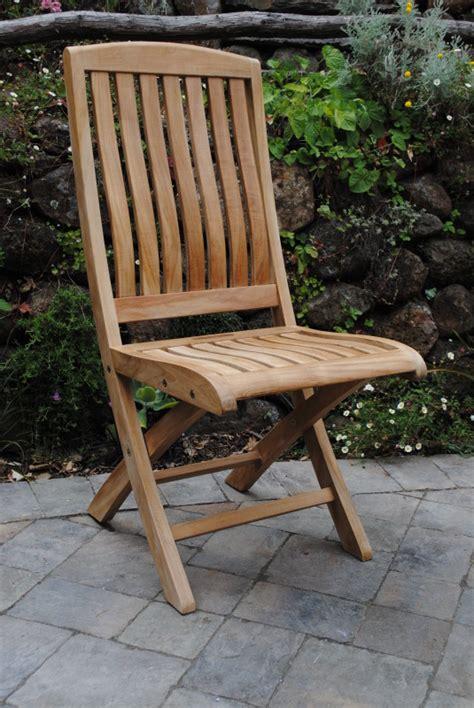 yountville folding side chair paradise teak