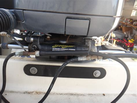 Hydraulic Steering On Boat Is Stiff by Stiff Steering Power Assisted Steering The Hull