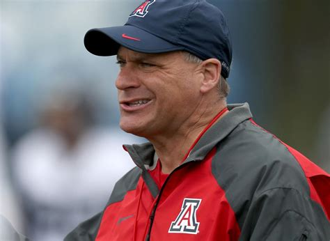 A coach is a person who trains the players and leads them to victory. University of Arizona's full statement on firing of football coach Rich Rodriguez | Local news ...