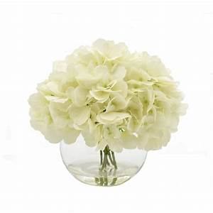Creative Displays, Inc. White Hydrangea Floral ...