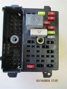 Chevrolet Malibu Oem Rh Dashboard Interior Fuse Box Block