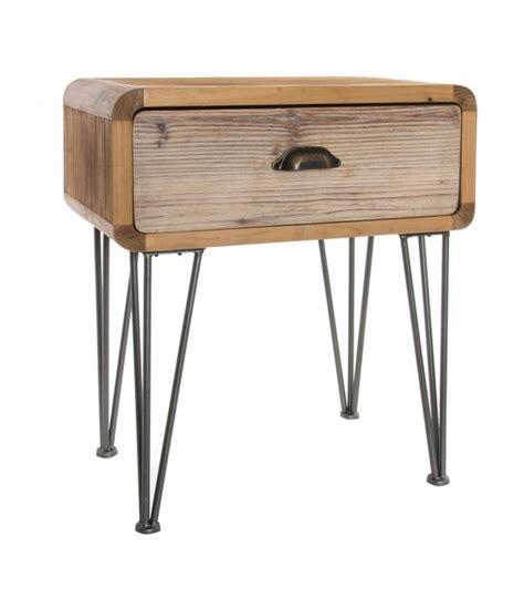 Table De Chevet Metal Tables De Chevet Et Mobilier Chambre Design