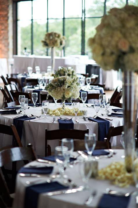 best 25 navy wedding centerpieces ideas navy rustic wedding navy blue and gold