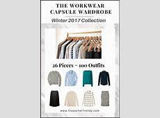 The Workwear Capsule Wardrobe EBook Winter 2017