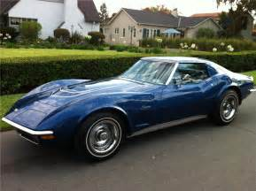 1972 lt1 corvette 1972 chevrolet corvette 2 door coupe 133207