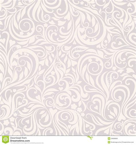 fond gris clair floral sans joint image libre de droits