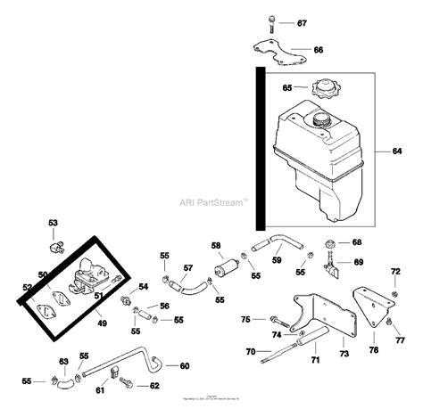 Ch 20 Kohler Command Wiring Diagram by Kohler Ch14 1810 Ariens 14 Hp Parts Diagram For Fuel