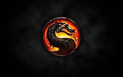 Naga Api Mortal Kombat Merah Hitam Gambar