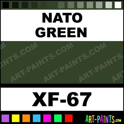 nato green color acrylic paints xf 67 nato green paint