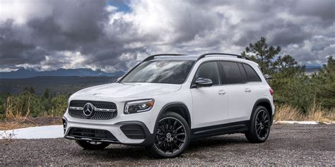 Before swinging the door closed, notice. 2020 Mercedes-Benz GLB 250 review, price, specs and photos