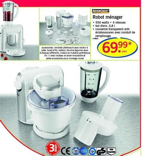 multifonction cuisine lidl promotion ménager silvercrest de