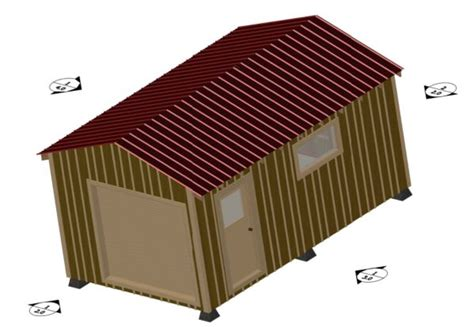 material list 12 x 20 shed how to build diy blueprints pdf
