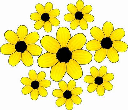 Yellow Flower Clipart Cartoon Clip Clipground Type
