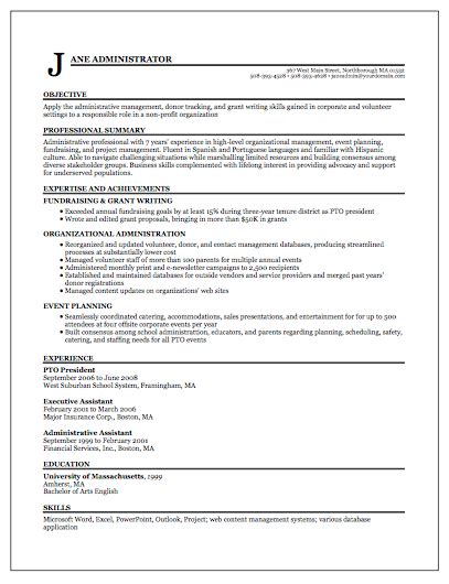 Template For A Functional Resume by Resume Sles Functional Format