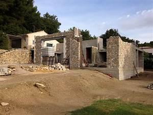 Un Mas En Provence : r alisation d 39 un mas proven al en pierres salon de ~ Farleysfitness.com Idées de Décoration