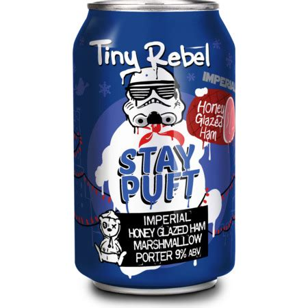 In short, we make beer for people like us. Tiny Rebel STAY PUFT IMPERIAL HONEY GLAZED HAM MARSHMALLOW PORTER 9% 330 ml can - pompeybeer.co.uk