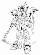 Coloring Gundam Deathscythe Lineart Xxxg 01d Exia Wing Mobile Suit Template Wikia Anime Drawings Sketch Printable Latest Nocookie Wiki Moon sketch template