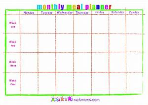 image gallery monthly menu template With monthly dinner menu template