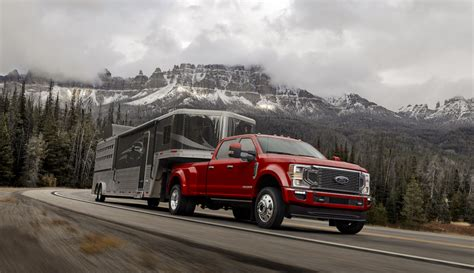ford unveils  heavy duty pickup truck