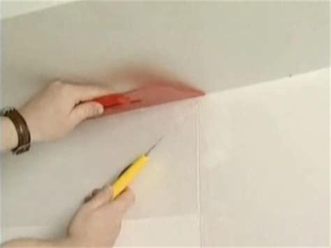 comment poser toile de verre au plafond de conception de maison