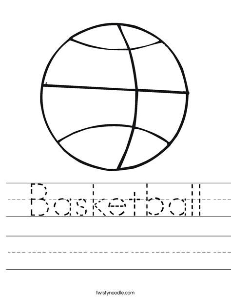 basketball worksheet basketball worksheet twisty noodle