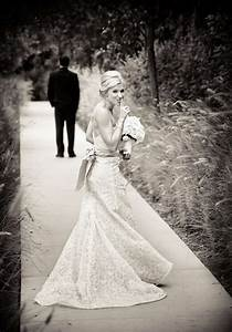 the grooms first glance at his bride tulle chantilly With looking for wedding photographer