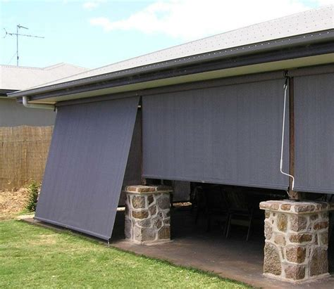 exterior patio shades blinds outdoor porch blinds exterior shades for patios