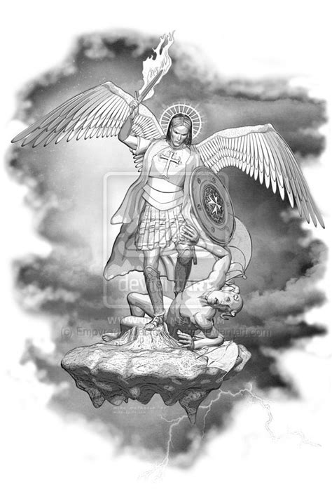 220 best images about Archangel Michael on Pinterest | Warrior angel, Archangel tattoo and