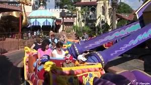 The magic carpets of aladdin at walt disney world39s magic for Aladdin carpet ride magic kingdom