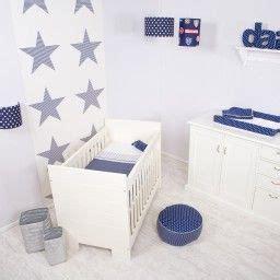dutch babykamer blauw met witte sterren baby room