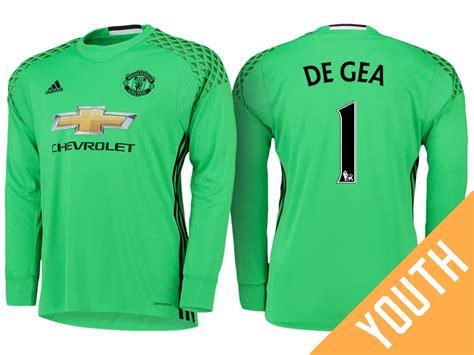 Manchester United David De Gea Green 2016-17 Road
