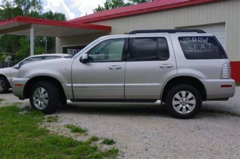 how do cars engines work 2007 mercury mountaineer parking system buy used 2007 mercury mountaineer awd in de soto missouri united states for us 9 800 00