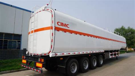 Cimc Diesel Tanks Type 3 Axle Widely Used Fuel Trailers