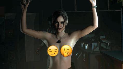 Mod De Nudez Em Resident Evil 2 ͡° ͜ʖ ͡° Youtube