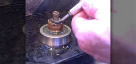 kitchen sink leaking from faucet how to fix a faucet leaking from around the handle