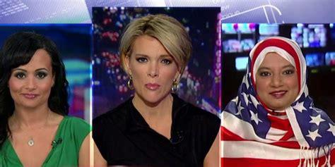 muslim woman wore  american flag hijab  fox news