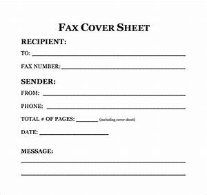 sample fax cover sheet for resume 7 documents in pdf word With fax cover letter for resume