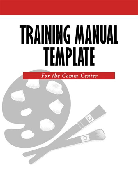 Training Guide Template Free by 5 Free Training Manual Templates Excel Pdf Formats