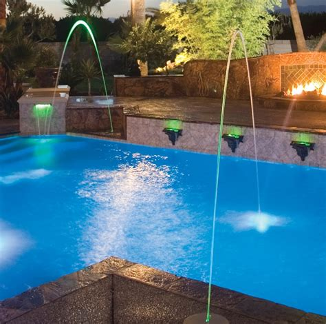 jandy deck jets water features water features colley s