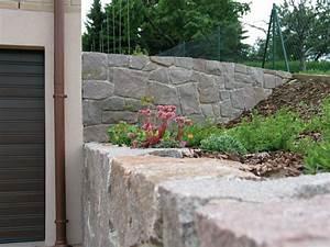 Natursteinmauern Im Garten : garten und landschaftsbau l ssig natursteinmauern trockenmauern sandstein granit ~ Markanthonyermac.com Haus und Dekorationen