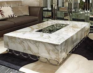 Decor Inspiring Marble Coffee Table For Living Room