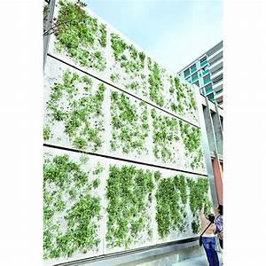 Mur Vegetal Exterieur : mur v g tal modulaire pour fa ades urbaines skyflor ~ Melissatoandfro.com Idées de Décoration